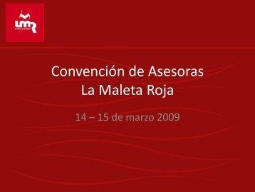 Convención de Aseroras La Maleta Roja