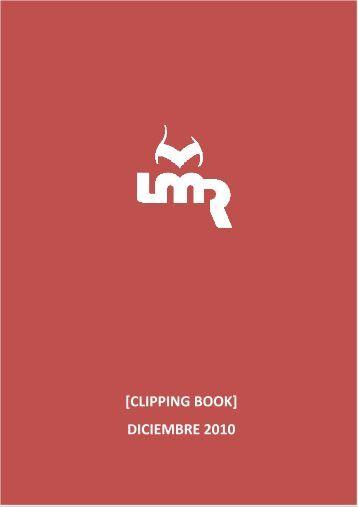 [CLIPPING BOOK] DICIEMBRE 2010 - La Maleta Roja
