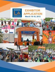 2012 Exhibitor Application pg 1 - LA Marathon