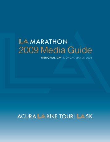 2009 Media Guide - LA Marathon