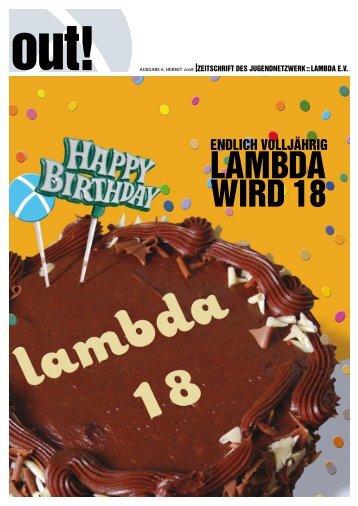 out! - Lambda Bayern