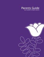 Lambda Chi Alpha Parents Guide (PDF)