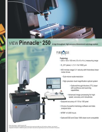Featuring: 250 x 150 x 100 mm - Lambda Photometrics