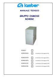 manuale tecnico - Lamber