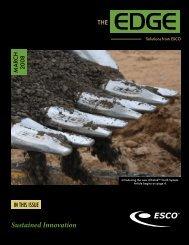 Sustained Innovation - ESCO Corporation