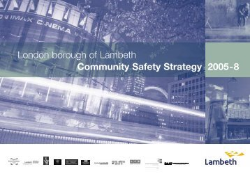 London borough of Lambeth Community Safety ... - Lambeth Council