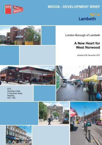 A New Heart For West Norwood – MDO38 - Lambeth Council