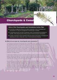 BAP - Churchyards & Cemeteries - Lambeth Council