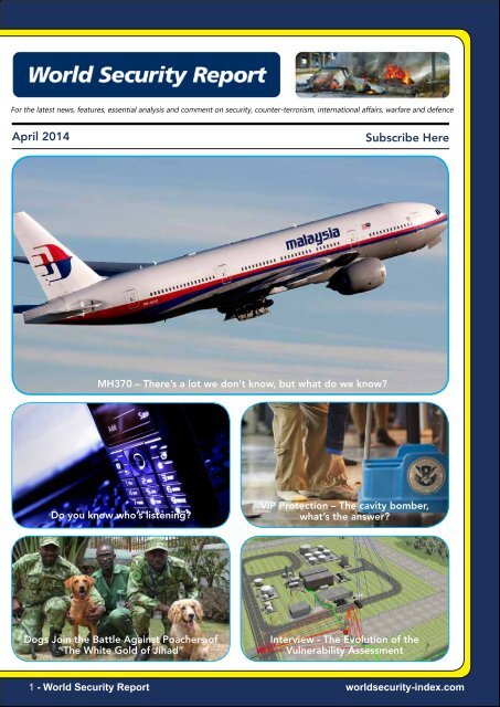 World Security Report April 2014