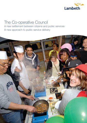 Report template - Lambeth Council