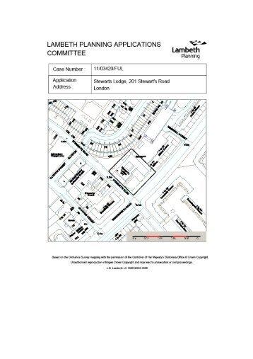 Stewarts Lodge, 201 Stewart's Road (Larkhall ... - Lambeth Council