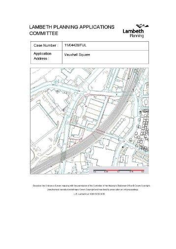 07 Vauxhall Square, item 6. PDF 626 KB - Lambeth Council