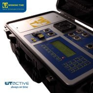 WT Active Chip Timing System Brochure - LAMBRA.com