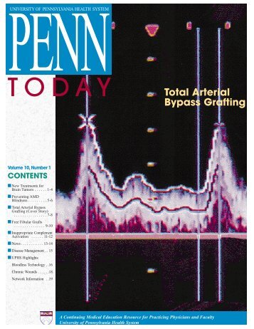Penn Today, Volume 10 November 1999 - John D. Lambris