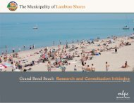 Beach Study (PDF) - The Municipality of Lambton Shores