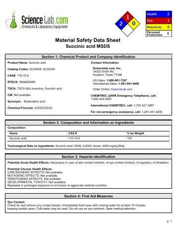 Dextran Sulfate Sodium Salt Msds