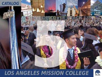 catalog - Los Angeles Mission College