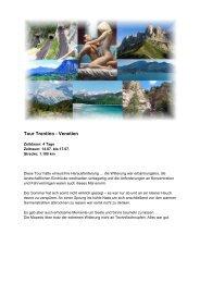 Tour Trentino - Venetien - Lammis-Moto-Site