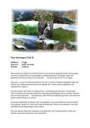 Tour Auvergne (Teil 2) - Lammis-Moto-Site