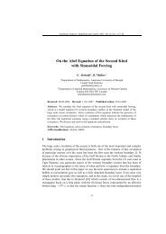 On the Abel Equation of the Second Kind with Sinusoidal Forcing