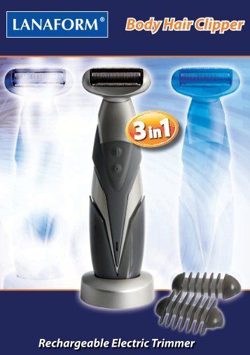 Body Hair Clipper - Lanaform