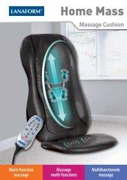 Multi-function massage Massage multi-fonctions ... - Lanaform