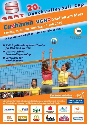 SEAT Beachvolleyball Cup 2010 - BC Cuxhaven