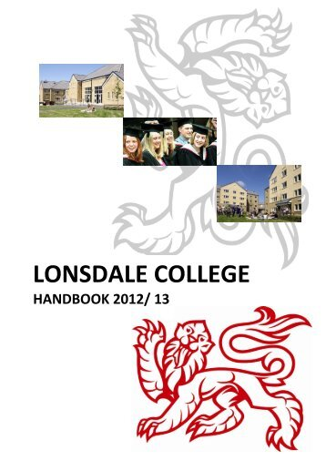 LONSDALE COLLEGE