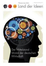 Newsletter Oktober/November (06.11.2013) - Land der Ideen