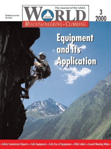 Equipment and its Application Equipment and its Application