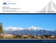 Meridian Rancho Cucamonga, Ca - Land Advisors Organization