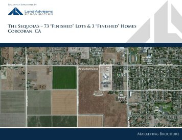 """The Sequoia's – 73 """"Finished"""" Lots & 3 """"Finished"""" - Land Advisors ..."""