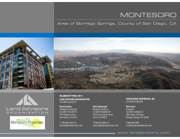 MONTESORO - Land Advisors Organization