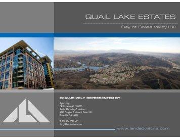 QUAIL LAKE ESTATES - Land Advisors Organization