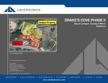 DRAKE'S COVE PHASE II - Land Advisors Organization