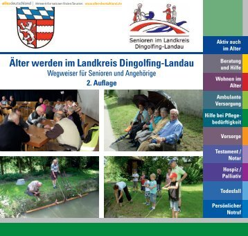 """""""Älter werden im Landkreis Dingolfing-Landau"""" - 2. Auflage"""
