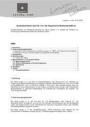 Auswahlverfahren Landau - Landau an der Isar