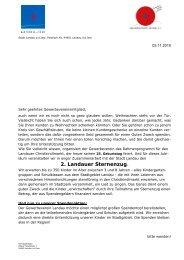 2. Landauer Sternenzug. - Landau an der Isar