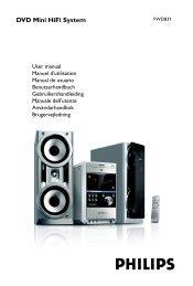 DVD Mini Hifi System - Philips