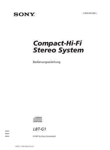 Compact-Hi-Fi Stereo System