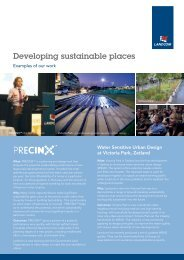 Developing sustainable places: click here to download ... - Landcom