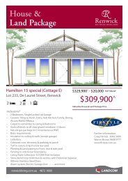 House & Land Package $309,900^ - Landcom