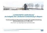 Download der Abschlusspräsentation - Lehrstuhl für Bodenordnung ...