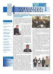 Volume 4, Issue 3 - Lehrstuhl für Bodenordnung und Landentwicklung