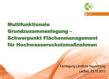 Multifunktionale Grundzusammenlegung ... - Landentwicklung