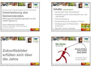 Präsentation Regionalwirtschaft - Landentwicklung - Steiermark