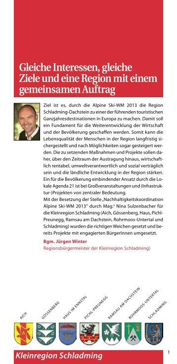 BürgerInnen gestalten Zukunft - Landentwicklung - Steiermark