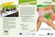 Folder Gemeindetag 2011 - Landentwicklung - Steiermark