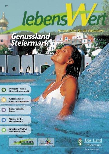 Genussland Steiermark - Landentwicklung - Steiermark