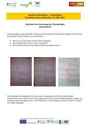 Protokoll 2 Lebenskultur - Landentwicklung